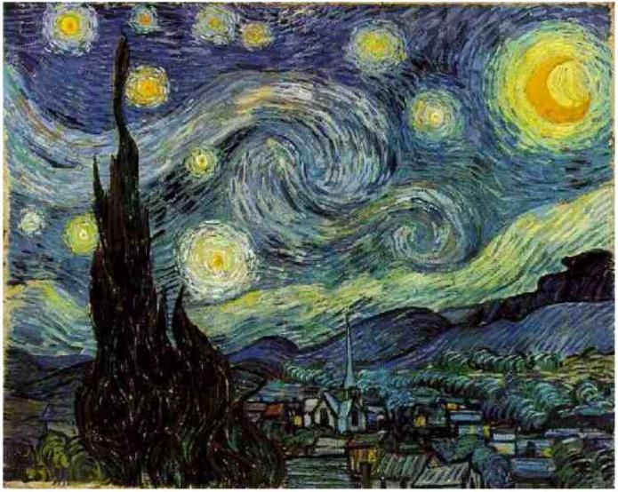 Starry-Night van gogh art
