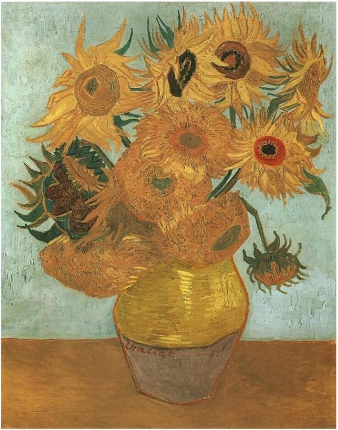 Still-Life_-Vase-with-Twelve-Sunflowers