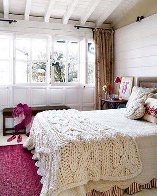 guestroom bedroom throw