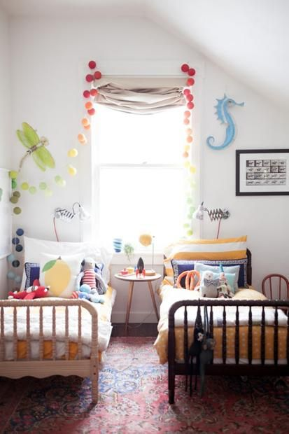 kids room eclectic