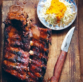 JAPANESE-STYLE BARBECUED BABY BACK RIBS www.finecooking.c...