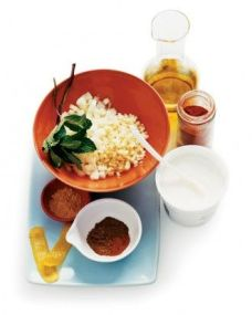 Spiced-Yogurt Marinade: http://www.marthastewart.com/312430/spiced-yogurt-marinade?czone=food%2Fbest-grilling-recipes%2Fgrilling-recipes&gallery=274688&slide=285019&center=276943