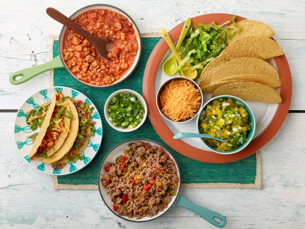 http://www.foodnetwork.com/recipes/rachael-ray/make-your-own-tacos-bar-recipe.html